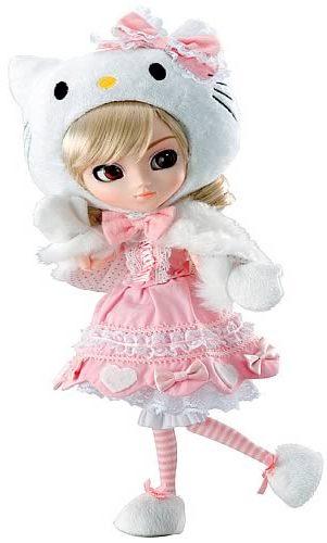 Hello Kitty + Pullip = One Cute Fashion Doll