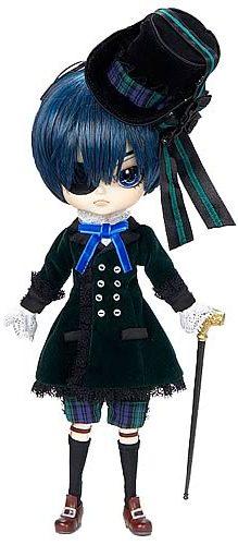 Dal Ciel Phantomhive Black Butler Doll: Step into the Shadows