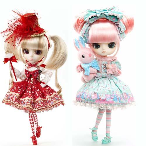 The Many Styles of Pullip Fashion Dolls