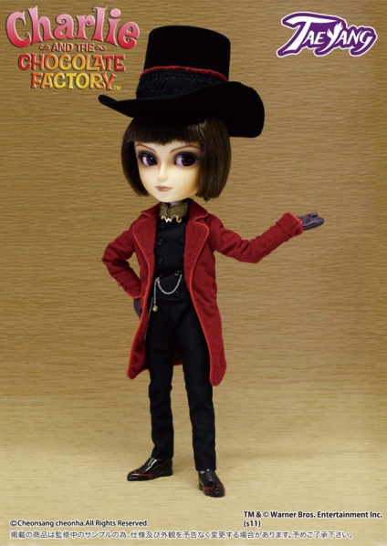 Taeyang Willy Wonka Doll February 2012