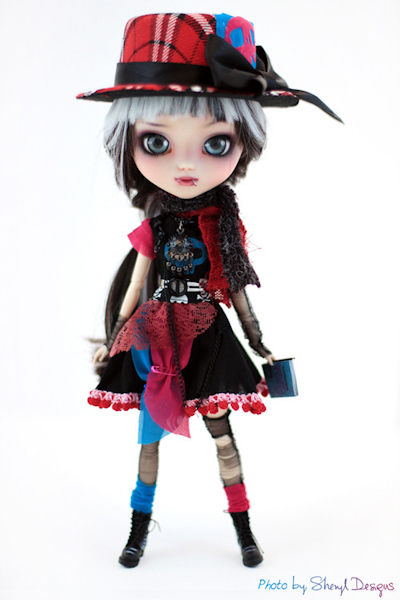 happy pullip world doll carnival custom-602