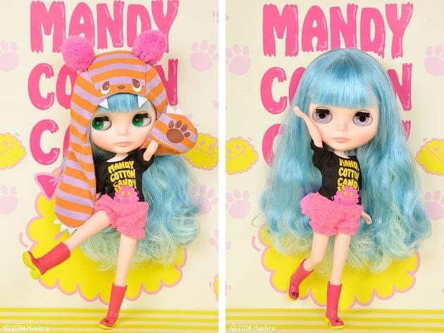Neo Blythe Mandy Cotton Candy