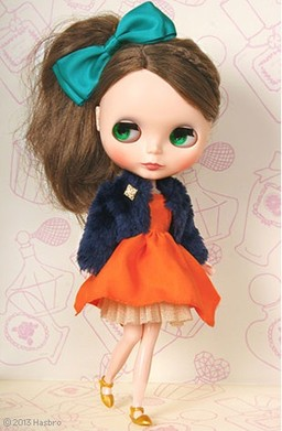 Neo Blythe Orange and Spice