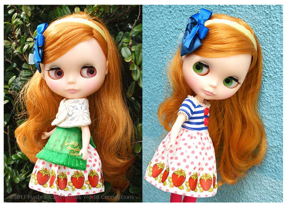 Neo Blythe Strawberries & Cream Cute
