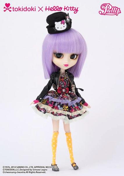 Pullip Violetta TOKIDOKI x HELLO KITTY-500