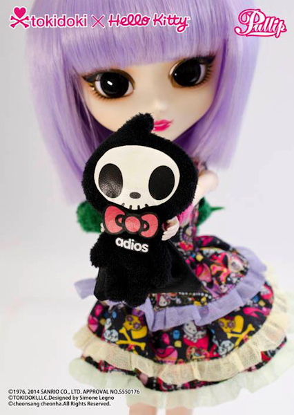 Pullip Violetta TOKIDOKI x HELLO KITTY SP-501
