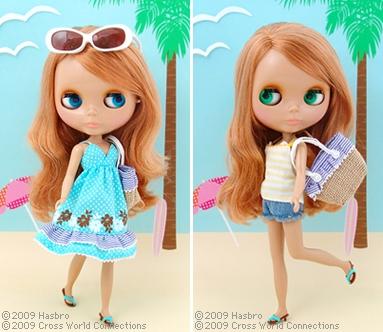 Neo blythe sunshine holiday for Blythe le jardin de maman
