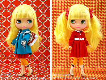 Blythe Mrs Retro Mama doll