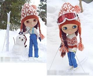 Neo Blythe Merry Skier
