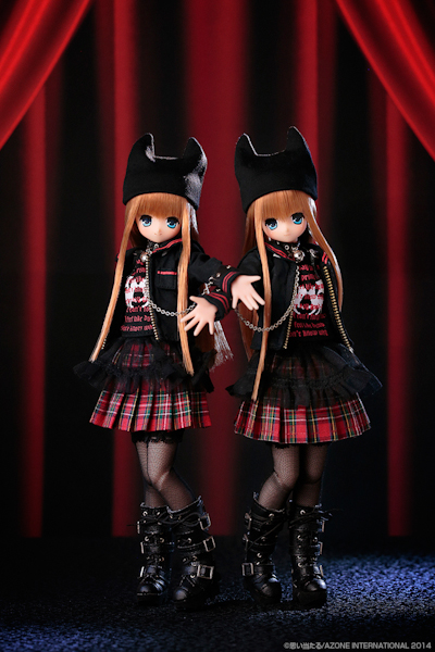 Azone 10th Anniversary Sweet Punk Girls Koron Reg-505
