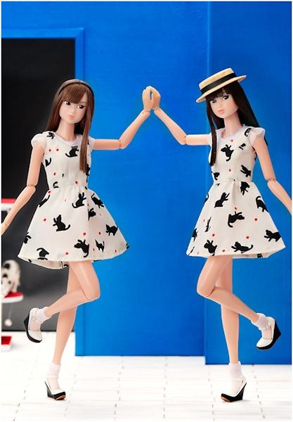 Dancing with Kittens Momoko Doll Clean Sweet Version-500