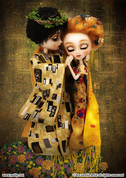 Pullip Doll Images: The Kiss