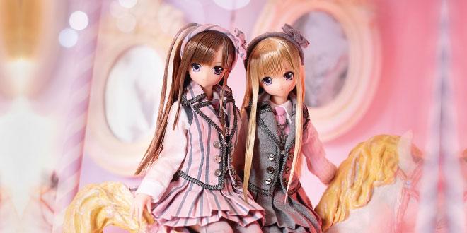 Sahra's a la mode: Pink! Pink! A La Mode Lycee Gray X Pink Azone Doll