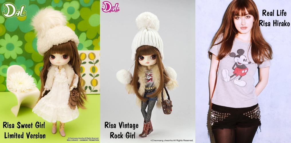 Risa Hirako dolls