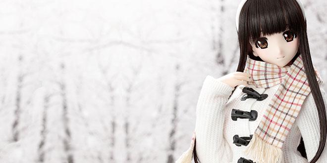 Mahiro Winter Humming Azone Happiness Clover Doll