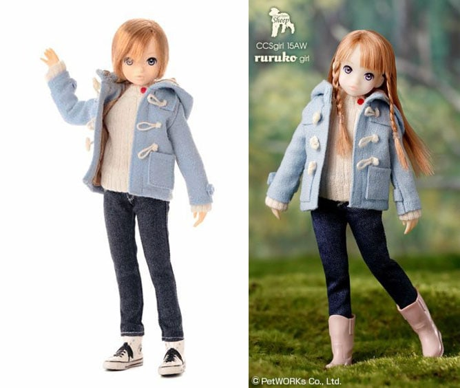 CCSgirl 15AW Ruruko Girl-boy