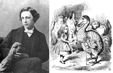 Lewis Carroll compare
