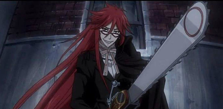 grell teeth chainsaw