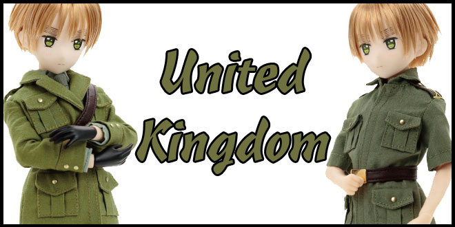 United Kingdom The World Twinkle Doll by Azone International