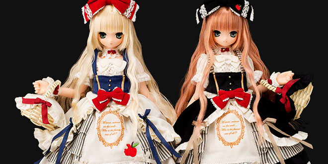 Snow White Princess Aika & Snow Black Princess Aika by Azone International