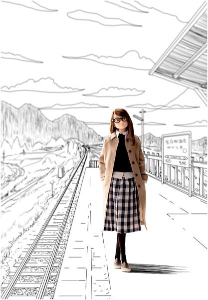 The Platform Departure Momoko-501