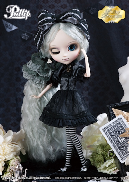 Romantic Alice Monochrome-602