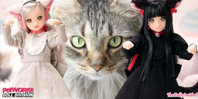 Ruruko Black Cat & Gray Cat By PetWORKs