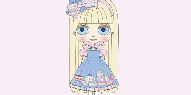 Neo Blythe Junie Moon Home Sweet Home July 2017
