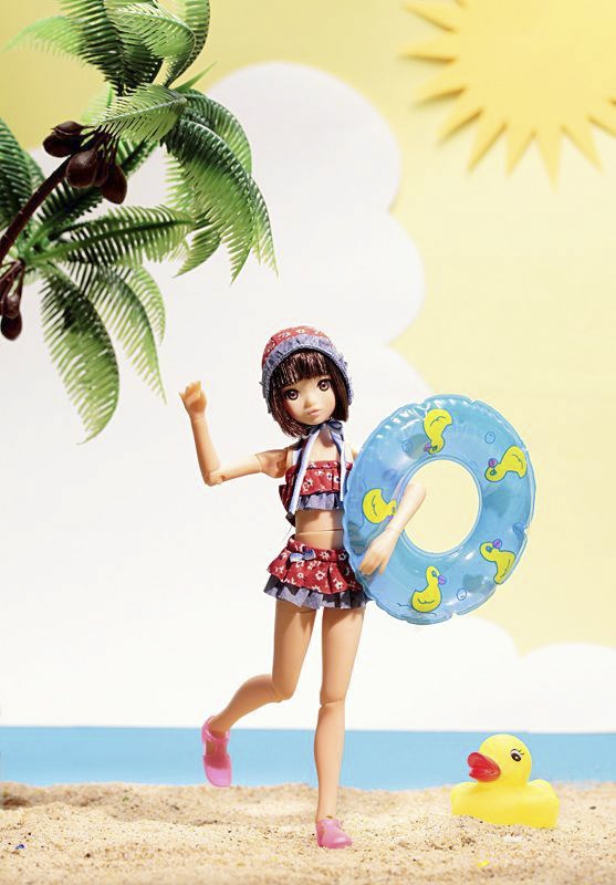 ruruko on the beach
