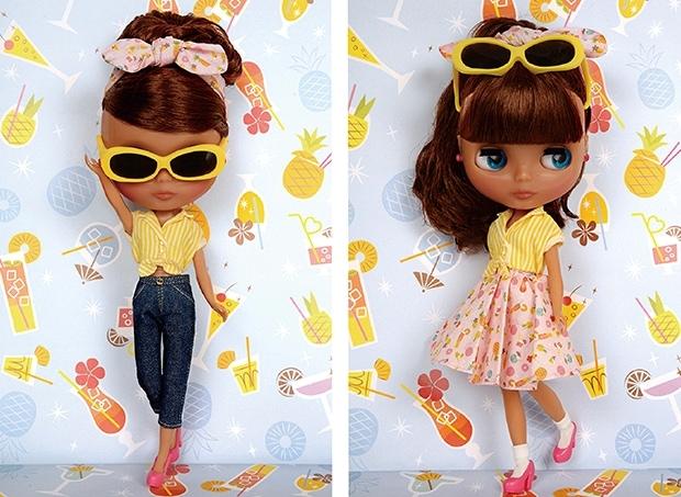 Neo Blythe Pineapple Princess