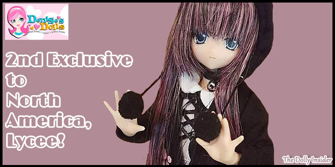 2nd Exclusive to North America: Sahra's a la mode: Meow × Meow a la mode Black Cat Lycee by Azone International