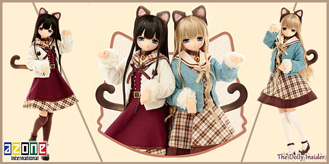 Meow × Meow a la mode Siamese Mia by Azone International