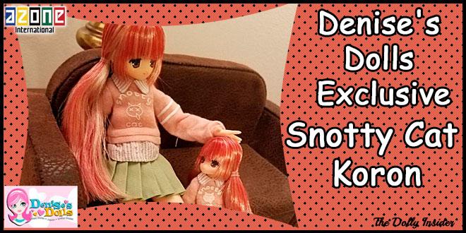 Denise's Dolls Exclusive: Snotty Cat Koron by Azone International