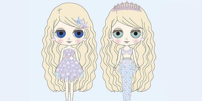 Neo Blythe Mermaid Tasha