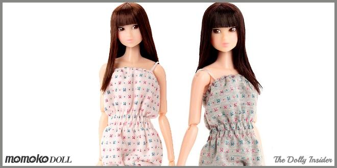 Wake-Up momoko Doll: WUD025 & WUD026 by Sekiguchi