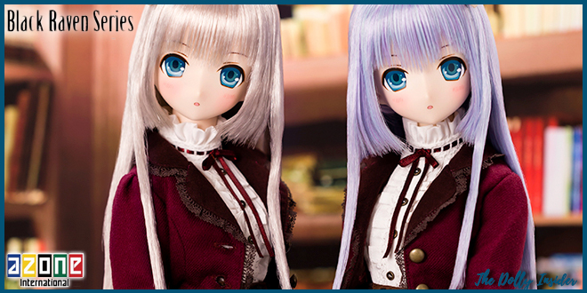 Lilia Black Raven ZERO: Silver & Blue Girl's Spell Story by Azone International