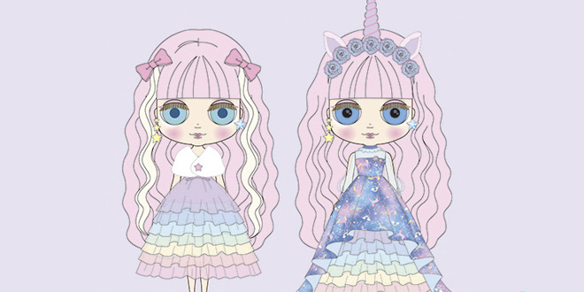 Neo Blythe Unicorn Maiden 17th Anniversary