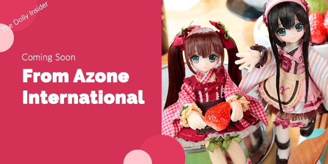 Picco Sahra's a la Mode Sweets a la Mode Yuzuha Cream Anmitsu & Yuzuha Strawberry Anmitsu by Azone International