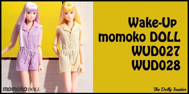 Wake-Up Momoko DOLL WUD027 & WUD028 by Sekiguchi