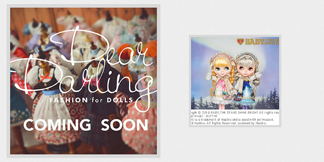 Dear Darling Fashion for Dolls!