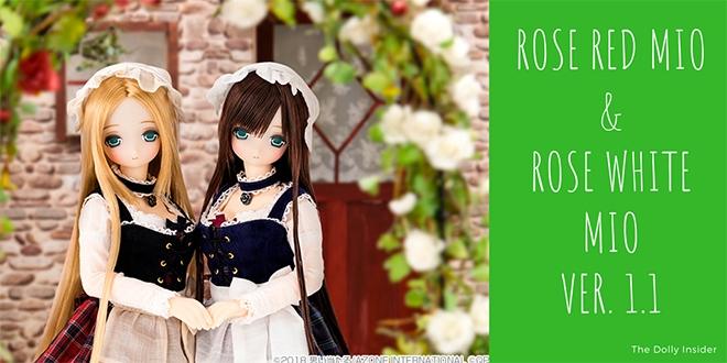 Rose Red Mio & Rose White Mio ver 1.1 by Azone International
