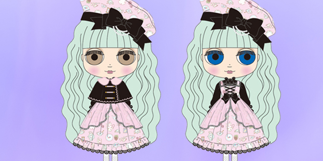Neo Blythe Cream Cheese and Jam October 2018