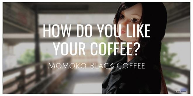 Momoko Black Coffee by Sekiguchi