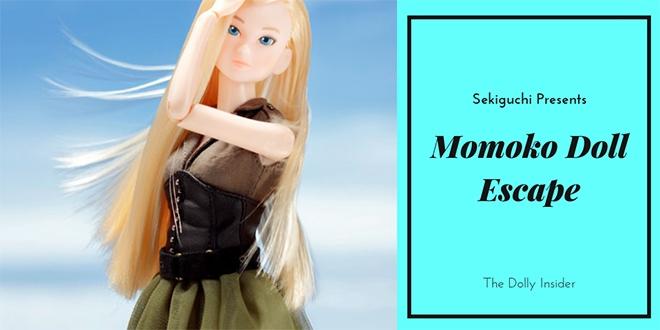 Momoko Doll Escape Flight by Sekiguchi