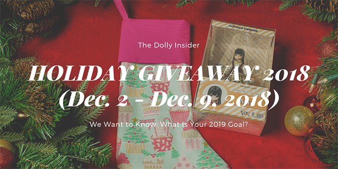 Holiday Giveaway 2018 (dec.2-9)