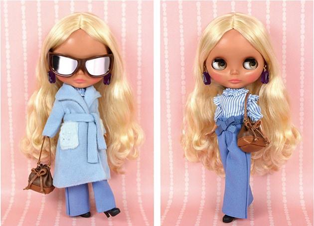 Muñecas Modelo Blythe Taeyang Pullip Momoko Dal Doll Clear Metallic Glasses Juguetes