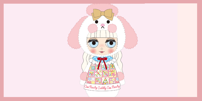 Middie Blythe Peachy Cuddly Coo July 2019