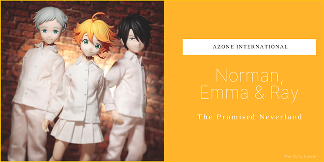 The Promised Neverland: Emma, Norman & Ray by Azone