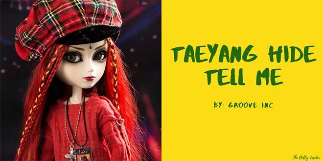 Taeyang hide TELL ME December 2019