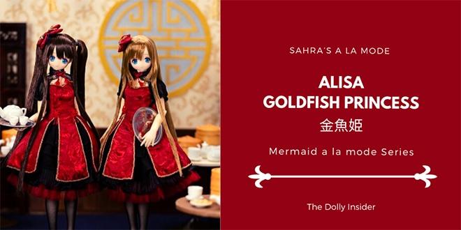 Sahra's a la mode: Mermaid a la mode Goldfish Princess Alisa by Azone International